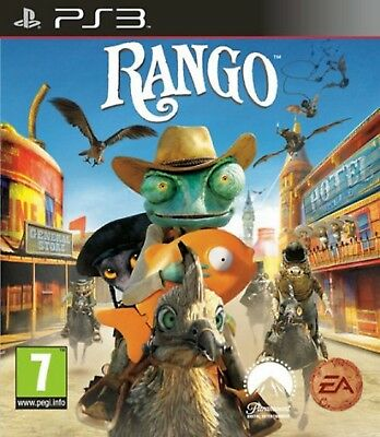 RANGO PS3 PlayStation 3 Video Game Original UK Release Brand New Sealed