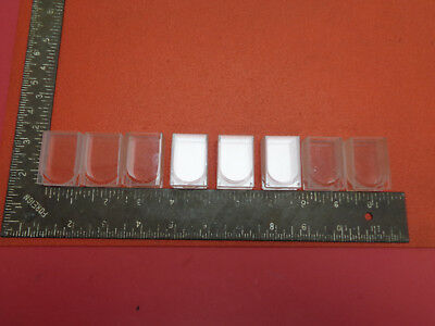Set of 8 laboratory quartz cuvette cells LOT2P24GE