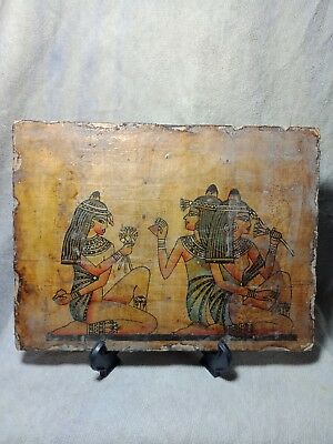 A panel of wood is very rare civilization of ancient Egypt