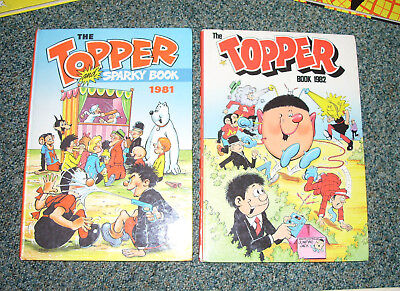 Topper Annuals 1981 & 1982 - Nice Condition