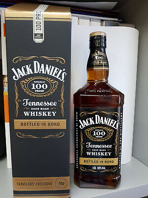 Whisky Jack Daniels Bottled in Bond with box 100CL 50% Vol. whiskey