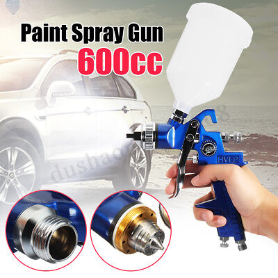 HVLP Air Spray Gun Kit 1.4/1.7/2.0MM ugelli impostare ritocco vernice Gravity Fe