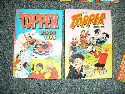 Topper Annuals 1979 & 1980 - Nice Condition+