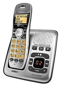 New  Generic Uniden Cordless Telephone with Answering Machine DECT1735 BYT9044