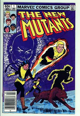 New Mutants 1 - 2nd Appearance of Team - Movie Coming - 8.0 VF