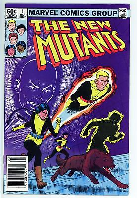 New Mutants 1 - 2nd Appearance of Team - Movie Coming - 9.0 VF/NM