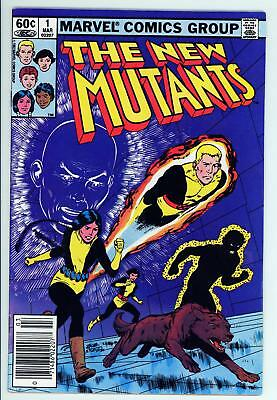 New Mutants 1 - 2nd Appearance of Team - Movie Coming - 5.0 VG/FN