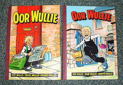 Oor Wullie Books 1982 & 1984 -  Good Condition