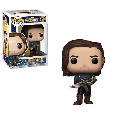 Funko POP! Marvel: Infinity War S2 Bucky Barnes with Weapon 418 35775 In stock
