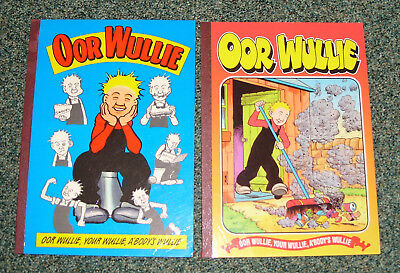 Oor Wullie Books 1994 & 1998 -  Good Condition