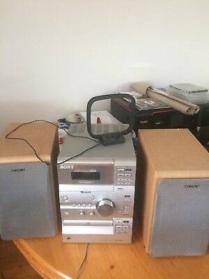 Sony Micro Hi-fi Component System CMT-CP11 Second Hand Used Condition