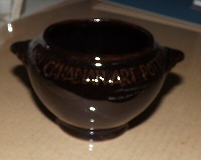 Royal Canadian Art Pottery Bowl  Dated 1967 About 4 Inches High