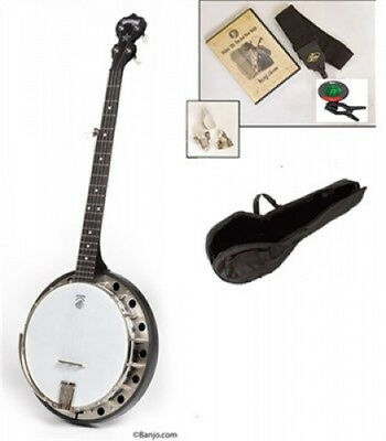 Deering Goodtime Midnight Special 5-String Banjo Starter Pack. Free Shipping