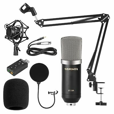 Streaming Microphone Podcast Recording For Youtube Condenser Studio Professional