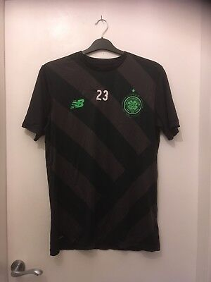New Balance Celtic training top worn by Sweden defender Mikael Lustig