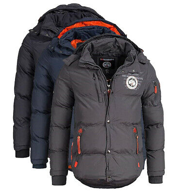 Giacca Giubbotto Parka Verveine Geographical Norway Jacket Uomo Man SP187H/GN