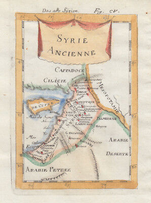 1685 Lovely Mallet Map of the Middle East, Cyprus