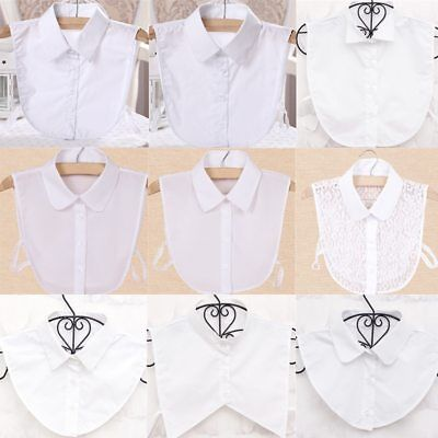 Chic Trendy False Collar Shirt Accessories Detachable Collars Women Blouse Lace
