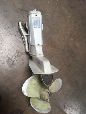 Volvo Penta AQ 270 complete outdrive 4 cyl. with course spline shaft