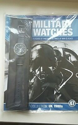 Eaglemoss RAF 1980s Reproduction Watch With Magazine