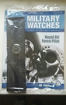 Eaglemoss Reproduction RAF 1950s Watch and Mag Sealed BN