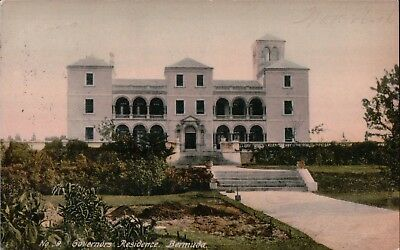 Governors Residence Bermuda posted 1906