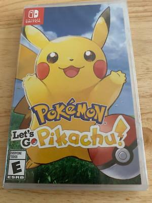 Pokemon Let's Go Pikachu! for Nintendo Switch - NEW & SEALED