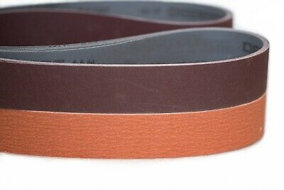 2 x 72 Ceramic Sanding Belt Variety Knife Making Kit 10pc