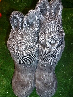 New Rabbits In Boots Latex Rubber Mould With Fibreglass Jacket.