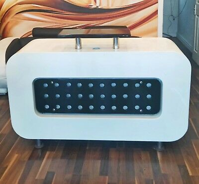 Reception Desk Used Hair Beauty Salon Office Furniture White & Black Counter