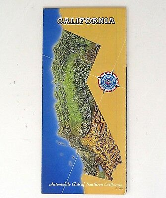 Aaa California Map.13 Vintage Southern California Aaa Road Map S 1940 S Plus 25 00
