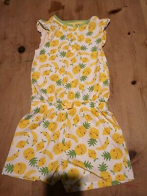 Gorgeoys Girls Playsuit Age 5-6 Good Condition