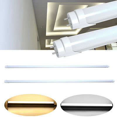 """1/10/50X T8 18W 24W 4FT 48"""" G13 LED Tube Light Fluorescent Replacement White US"""