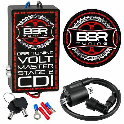 BBR TUNING 2-STROKE Motorized Bicycle Volt STAGE II High Performance Racing  CDI