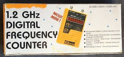 Wisher 10 Hz-1.2 GHz Digital Handheld Full Function Frequency Counter WFC-308