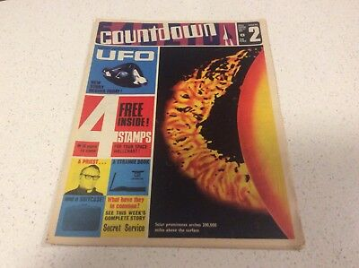 Countdown U.K. Comic Issue No.2 Gerry Anderson UFO Joe 90  Thunderbirds Dr Who