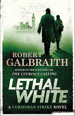NEW Audio Book Lethal White A Novel by Robert Galbraith 2018 Unabridged