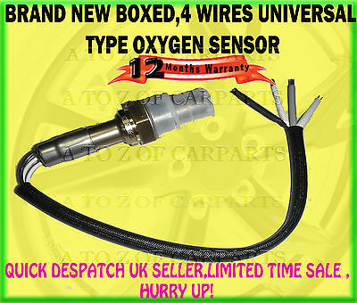 Quality Item For Vw Volkswagen Many Models 4 Wire Wires O2 Oxygen Lambda Sensor