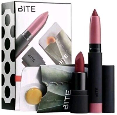 Sephora Beauty Insider Birthday Gift Bite Lip Crayon Lipstick Balm Travel Set