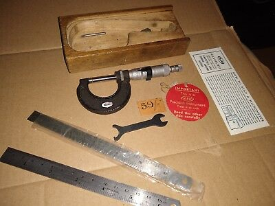 Moore & Wright 965B Micrometer  Good Condition. See pics