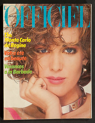'l'officiel' French Magazine Summer Issue June 1984