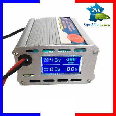 chargeur charger batterie battery voiture auto 12v pince croco double cable