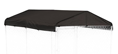Dog Kennel Cover - WeatherGuard Medium All Season Dog Run Cover & Roof - Perfect