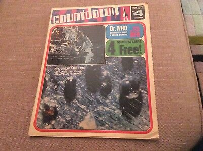 Countdown U.K. Comic Issue No.4, 1971 Dr.Who UFO Gerry Anderson