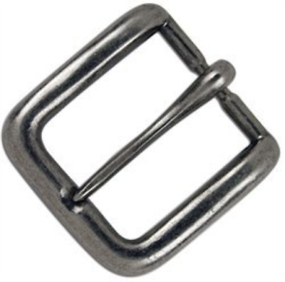 "Tandy Leather Antique Nickel 1-1/4"" Wave Buckle 1640-21"