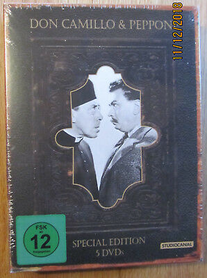Don Camillo & Peppone * Special Edition * 5 Dvd-Box * Fernandel * Neu & Ovp *