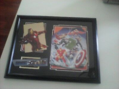 Avengers Iron Man Made Up Picture Frame