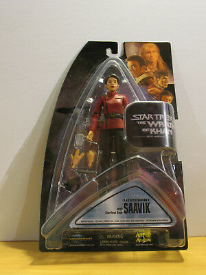 Diamond Select Art Asylum Star Trek Wrath Of Khan Lieutenant Saavik Figure