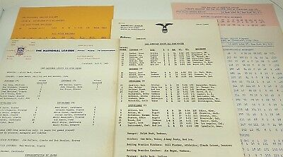 Baseball All Star Game Aaron Mays Koufax Snider Clemente 1963