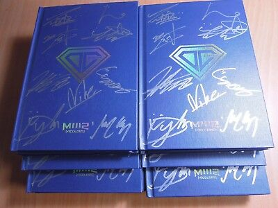 D-CRUNCH - M1112 4Colors (1st Mini Promo) with Autographed (Signed)